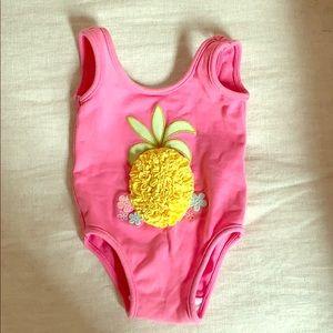 Baby Gap 3-6 month pineapple bathing suit